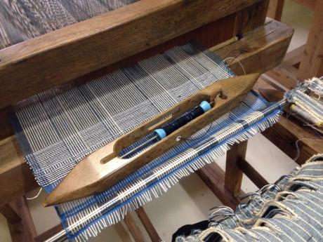 宮古織の織物体験