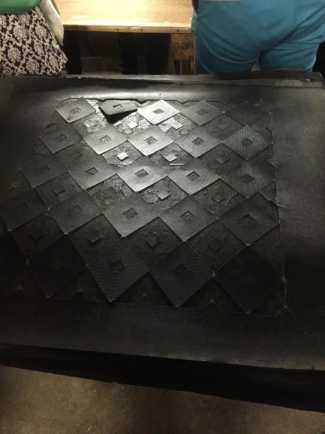 長板中形に使う型紙
