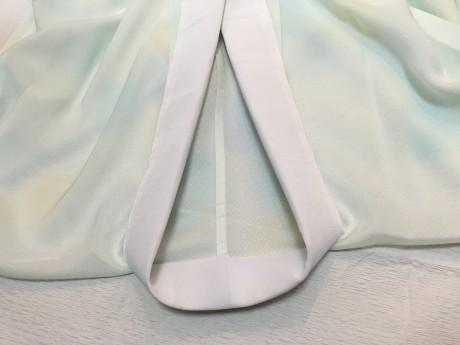 袋帯コース:単衣長襦袢の半衿付け