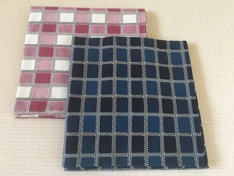 風呂敷:三和織物の刺し子織