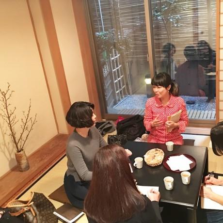 メイクアップアーティスト東風上尚江氏による着物メイク講座