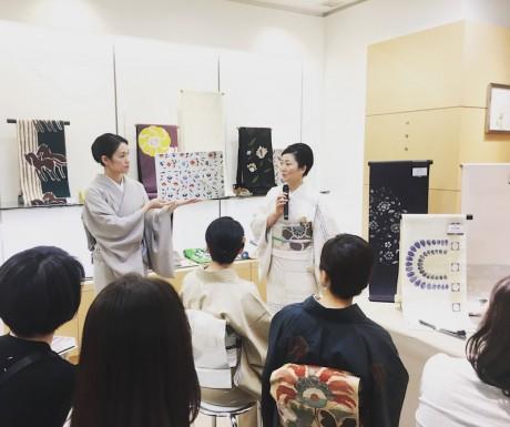 洛風林三代目・堀江麗子氏のお話し会